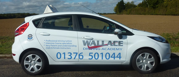 Areas Covered by Wallace Driving Academy